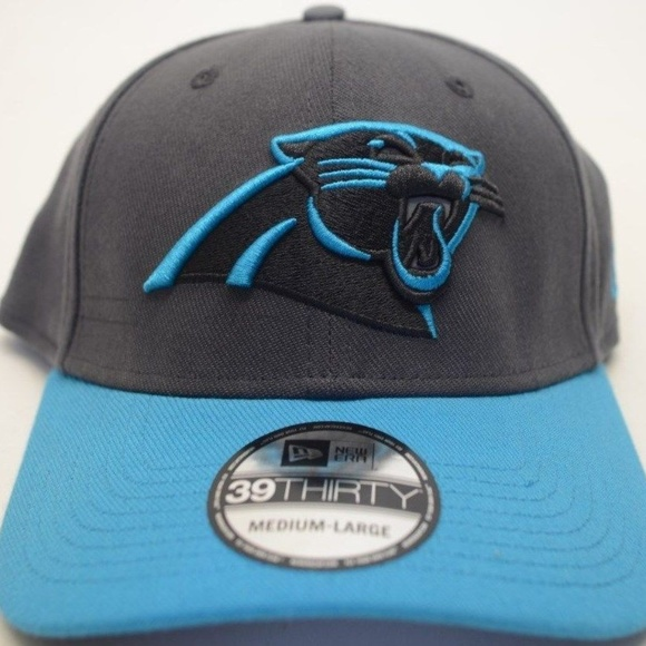 fe6f29ff Men's New Era Carolina Panthers 39Thirty Sz M/L NWT